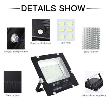 200w Led Floodlight Ip65 Waterpro of  Led Flood Lights Outdoor AC220V Outside Lighting  Exterior Garden Light  led spotlight
