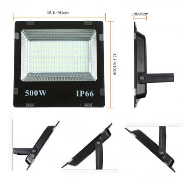 LIFELONG WARRANTY 500w led Floodlight ip65 Waterproof Outdoor led Flood Lights Daylight White AC220V led Spotlights