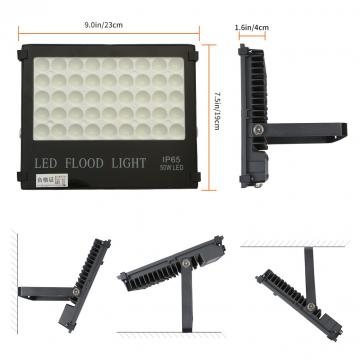 50W LED Outdoor Floodlight  High Power Landscape Lights Waterproof IP65 AC220V Security Lights for Garden LED FLOOD LIGHTS