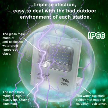 LED FLOODLIGHT 20W170-265V OUTDOOR LED FLOODLIGHT WATERPROOF IP66 GARDEN STREET SPOTLIGHT LED PROJECTOR LAMP FOR GARDEN CAR PARK