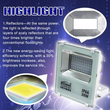LED FLOODLIGHT 30W220V OUTDOOR LED FLOODLIGHT WATERPROOF IP66 GARDEN STREET SPOTLIGHT LED PROJECTOR LAMP FOR GARDEN CAR PARK