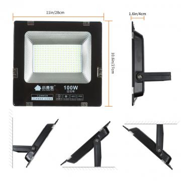 100w Led Floodlight Ip65 Waterpro of  Led Flood Lights Outdoor AC220V Outside Lighting  Exterior Garden Light  led spotlight